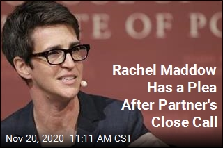 Maddow: COVID Nearly Killed 'Center of My Universe'