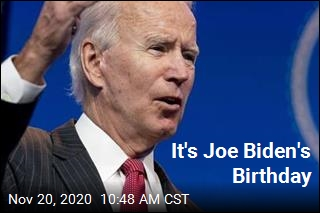 It's Joe Biden's Birthday