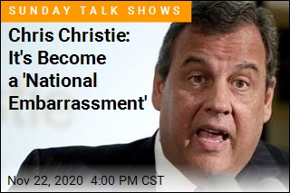 Chris Christie: It's Become a 'National Embarrassment'