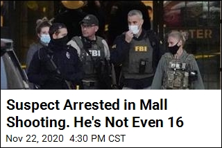 Suspect Arrested in Mall Shooting. He's Not Even 16