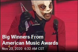 Winners From the American Music Awards