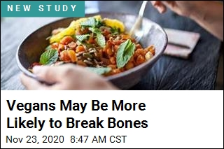 Vegans May Be More Likely to Break Bones