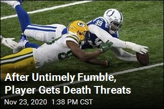 After Untimely Fumble, Player Gets Death Threats