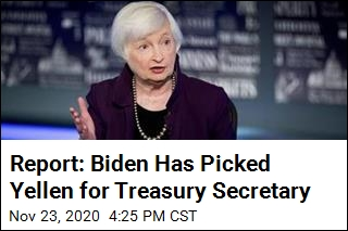 Report: Biden Has Picked Yellen for Treasury Secretary