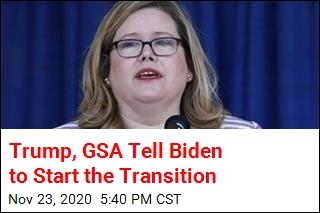Trump and GSA Decide to Cooperate With Transition
