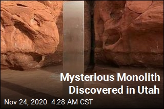 'The Strangest Thing': Mysterious Monolith Discovered in Utah