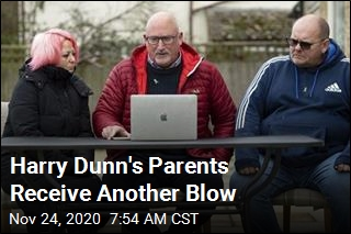 Harry Dunn's Parents Receive Another Blow