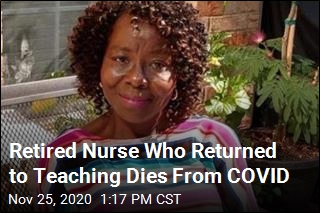 Retired Nurse Who Returned to Teaching Dies From COVID