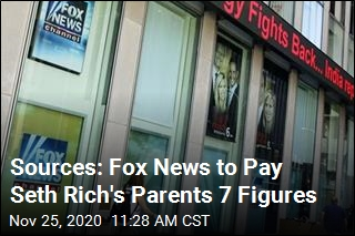 Sources: Fox News to Pay Seth Rich's Parents 7 Figures