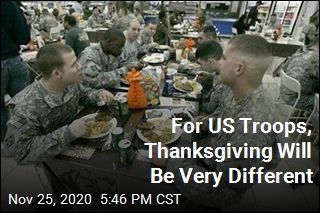 Pentagon to Troops: Don't Eat Your Turkey in Dining Halls