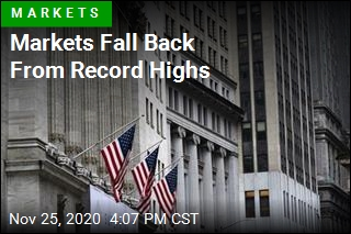 Markets Fall Back From Record Highs