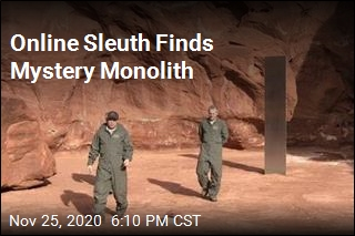 Theories Abound Over Weird Monolith