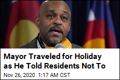 Mayor Who Told Residents Not to Travel for Holiday... Is Traveling