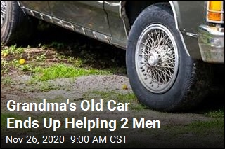 Man Pays It Forward With Grandma's Old Car