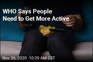 WHO Says People Need to Get More Active