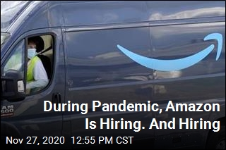 During Pandemic, Amazon Is Hiring. And Hiring