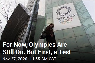 Tokyo to Hold Olympic Test Run