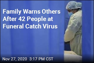 Family Warns Others After 42 People at Funeral Catch Virus