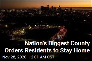 Nation's Biggest County Orders Residents to Stay Home