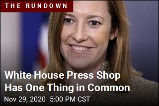White House Press Shop Will Be All Female