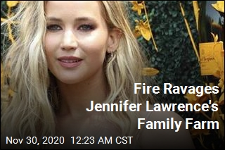 Fire Ravages Jennifer Lawrence's Family's Farm