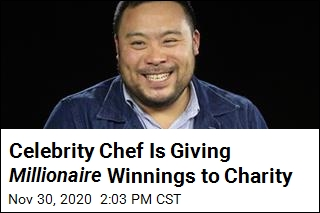 Chef Is First Celebrity Winner of Who Wants to be a Millionaire