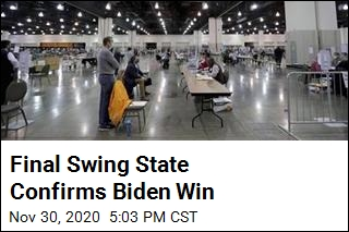 Final Swing State Confirms Biden Win