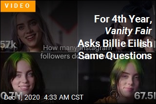 Vanity Fair Asked Billie Eilish the Same Questions for 4th Year