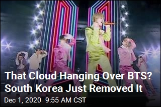 That Cloud Hanging Over BTS? South Korea Just Removed It
