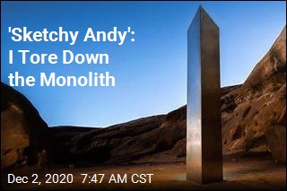 'Sketchy Andy': I Tore Down the Monolith