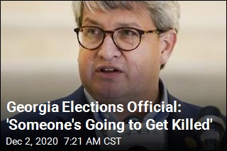 Georgia Elections Official: 'Someone's Going to Get Killed'