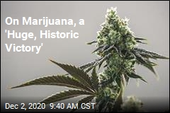 On Marijuana, a 'Huge, Historic Victory'