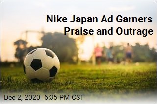 Nike Japan Ad Garners Praise and Outrage
