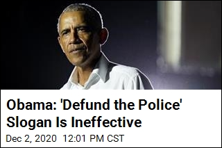 Obama: Saying 'Defund the Police' Won't Lead to Reform