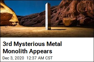 Latest Mysterious Metal Monolith Is in California