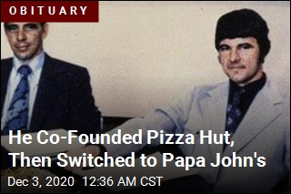 Pizza Hut Co-Founder Dies of Pneumonia at 82