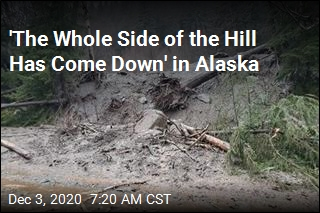 6 Missing in Alaska Mudslide After 'Unheard of' Amount of Rain