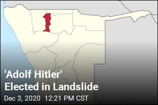 'Adolf Hitler' Elected in Landslide