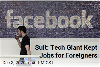 Suit: Tech Giant Kept Jobs for Foreigners