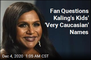 After Fan's Comment, Mindy Kaling Reveals Kids' Middle Names