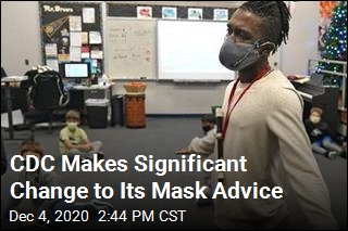 Unless You're Home, Wear Masks Indoors: CDC