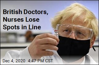 British Doctors, Nurses Lose Spots in Line