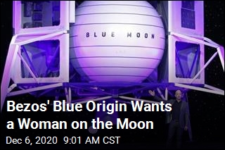 Bezos Vows to Put a Woman on the Moon