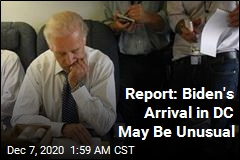 Report: Biden May Arrive in DC in Unusual Fashion