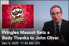 Pringles Mascot Gets a Body Thanks to John Oliver