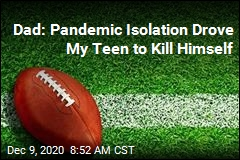 Dad's Warning After Son's Suicide: Talk to Your Kids During Pandemic