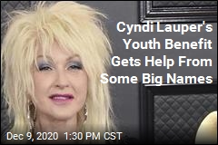 Big Stars Join Cyndi Lauper's Benefit Concert