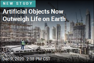 Artificial Objects Now Outweigh Life on Earth