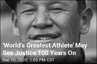 'World's Greatest Athlete' May See Justice 100 Years On