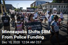 Minneapolis Shifts $8M From Police Funding